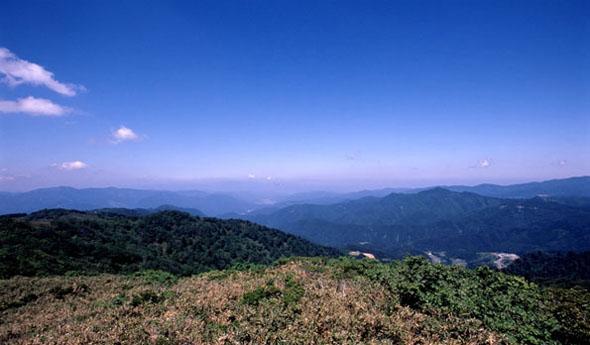 夏の氷ノ山